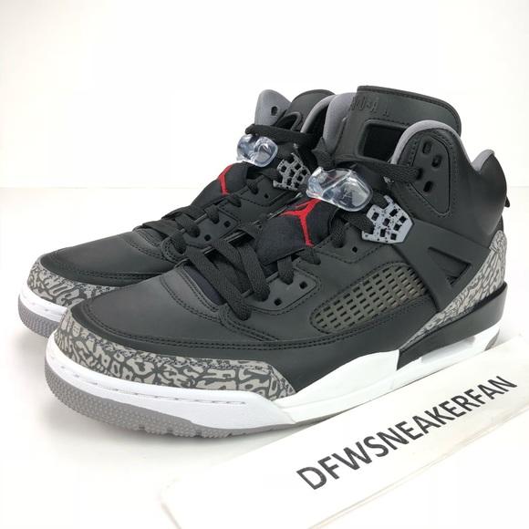 more photos af1ff 5f480 Nike Air Jordan Spizike Black Cement Mens 11.5, 12 NWT